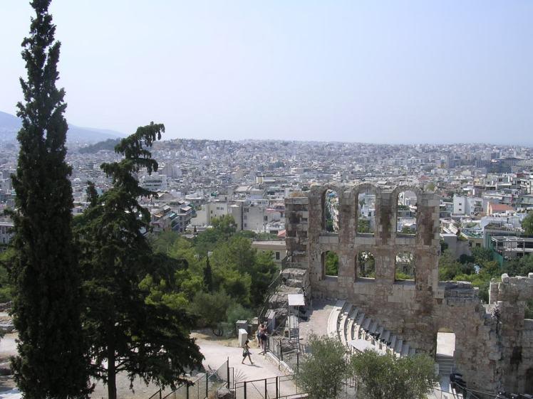 Atene_vista