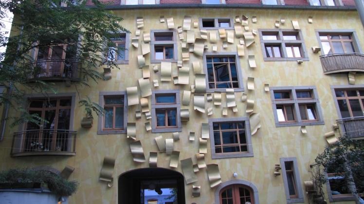 Quartiere degli artisti Dresda