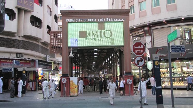 Quartiere dell'oro_Dubai