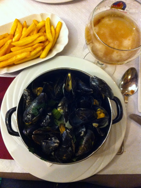 Moules et Frites Belgio